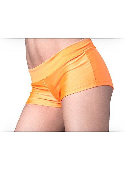 Stretch Mini Shorts orange