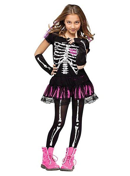 Süßes Skelett Kinderkostüm