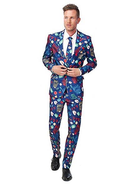 SuitMeister Casino Slot Machine Party Anzug
