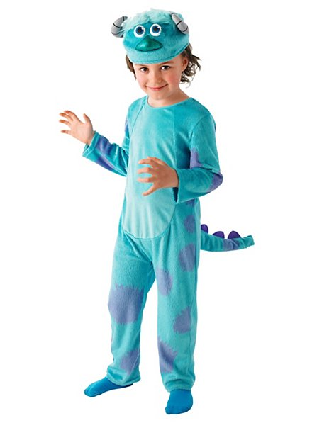 Sulley Deluxe Official Monsters University Kids Costume