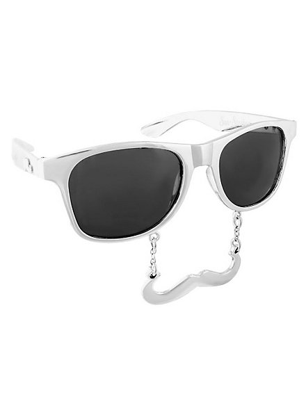 Sun-Staches Classic Chrom Partybrille