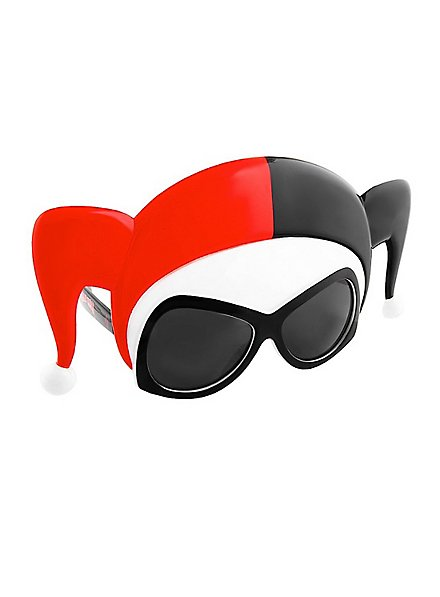 Sun-Staches Harley Quinn Maskenbrille