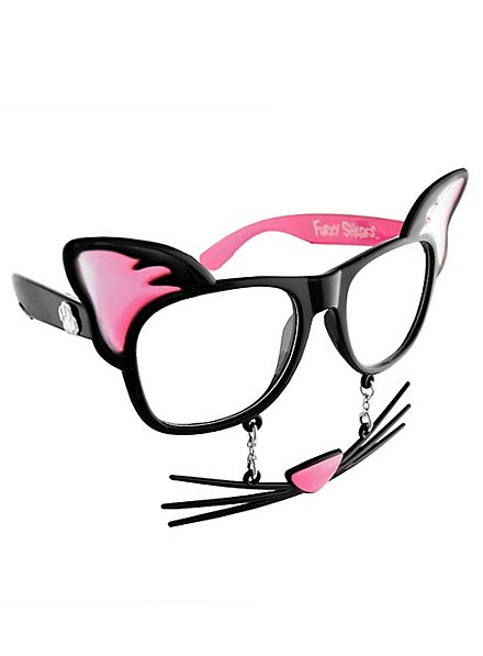 Sun-Staches Katze Partybrille