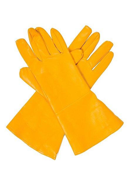 Superhero Gloves yellow