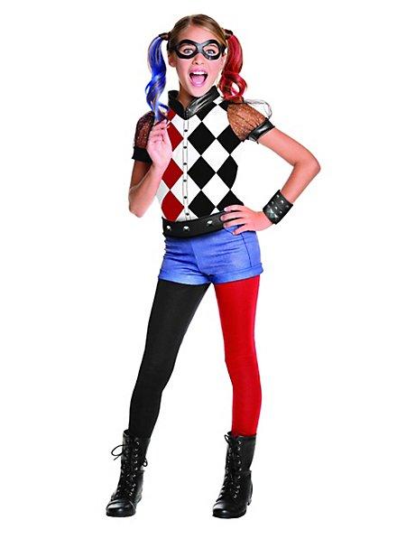 Superhero Harley Quinn kid's costume