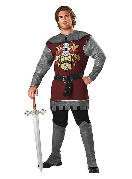 Tapferer Ritter Kostüm