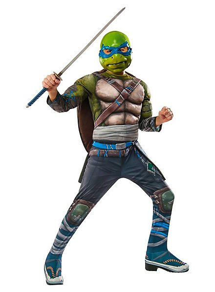 Teenage Mutant Ninja Turtles 2 Leonardo Deluxe Costume for Children