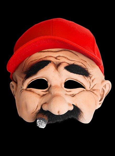 Tense Trucker Latex Mask