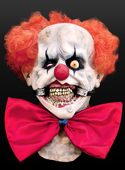 Terrorclown Maske aus Latex