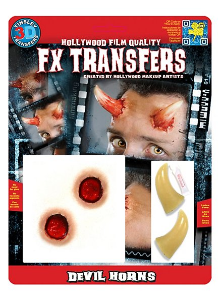 Teufelshörner 3D FX Transfers