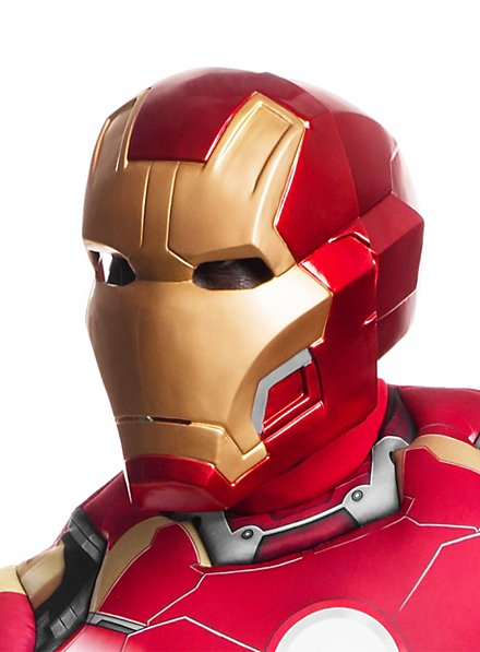 The Avengers Iron Man Maske aus Kunststoff