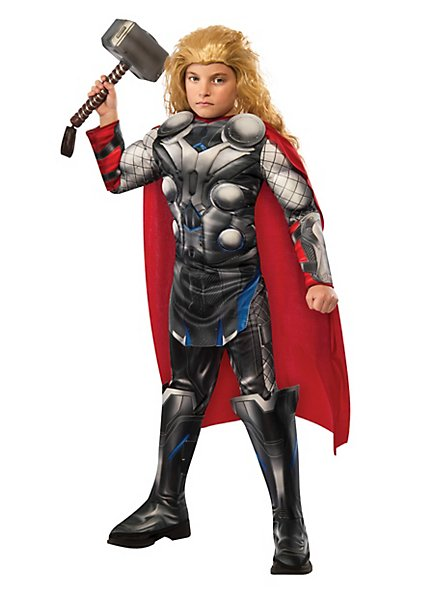 The Avengers Thor mit Muskeln Kinderkostüm