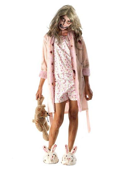 The Walking Dead Zombie Mädchen Kinderkostüm