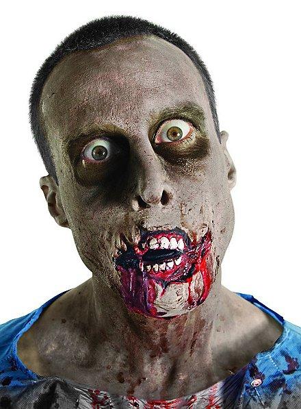 The Walking Dead Zombie Mund Latexapplikation