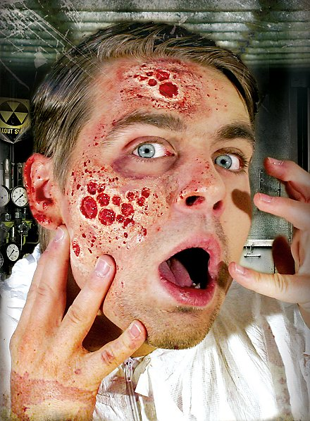 Toxic Radiation Latex Application