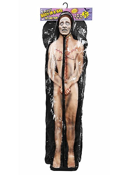 Transparenter Leichensack Mit Leiche Halloween Deko Maskworld Com
