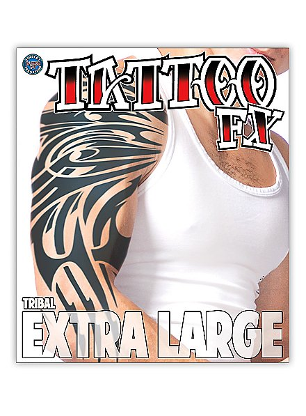 Tribal Klebe-Tattoo XL