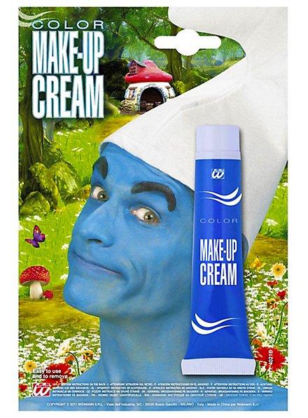 Tube de maquillage bleu