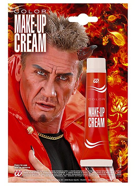 Tube de maquillage rouge