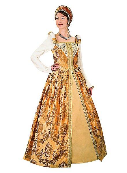 Tudor Kleid bernstein