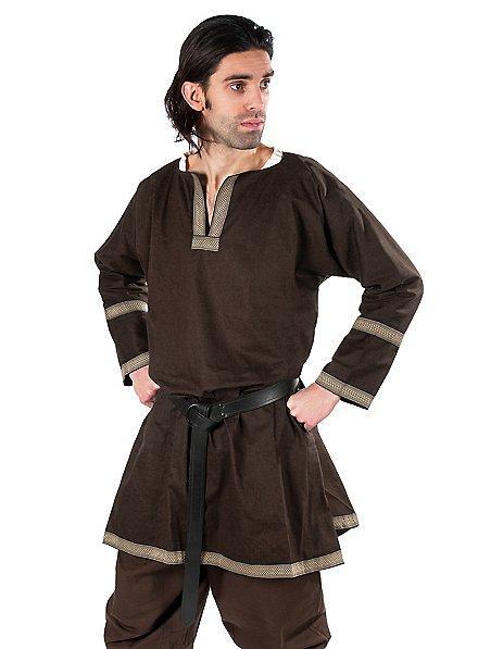 Tunique normande marron
