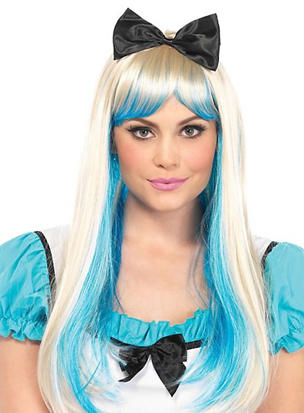 Two Coloured Alice Wig