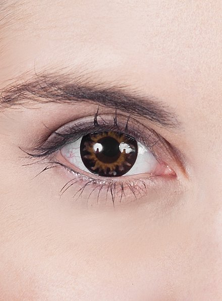 Dunkelbraune Kontaktlinsen - Unhold