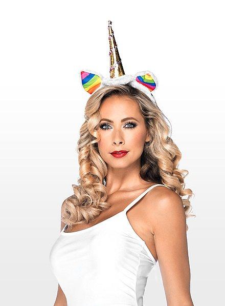Unicorn Hair Band rainbow