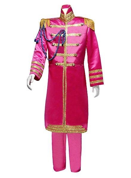 Uniforme groupe pop «Sgt. Pepper» rose