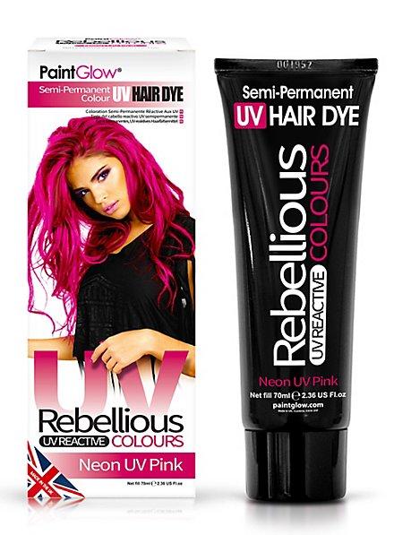 UV Haartönung pink