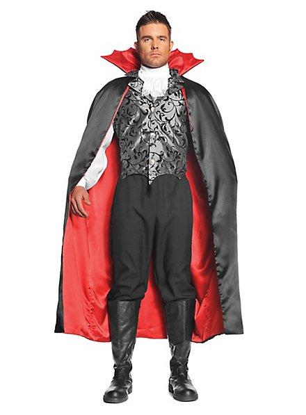 Vampire cape with bat collar