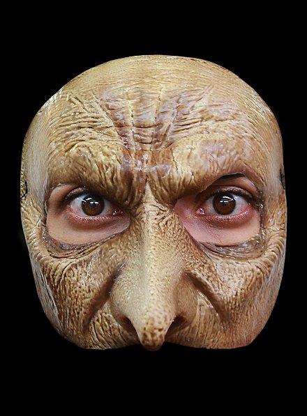 Vampirgesicht Halbmaske aus Latex