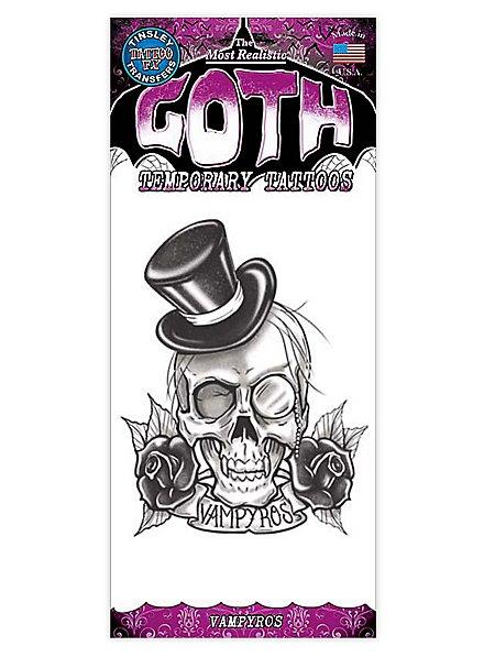 Vampyros Gothic Temporary Tattoo