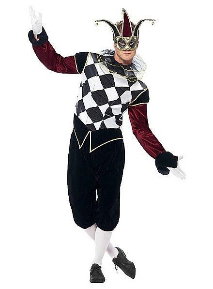 Venezianischer Harlekin Kostüm