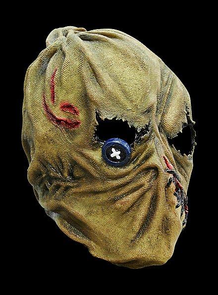 Vogelscheuche Maske des Grauens aus Latex