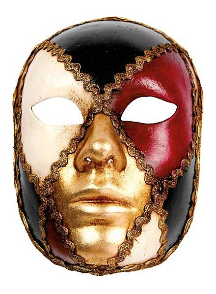 Volto scacchi colore - Venezianische Maske