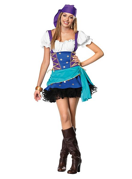 Wahrsagerin Kostüm für Jugendliche