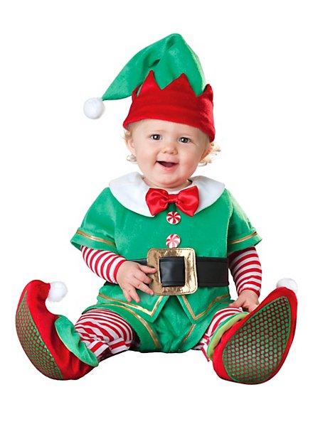 Weihnachtself Babykostüm