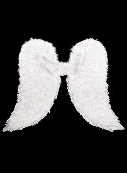 Weisse Engelsflügel Federn