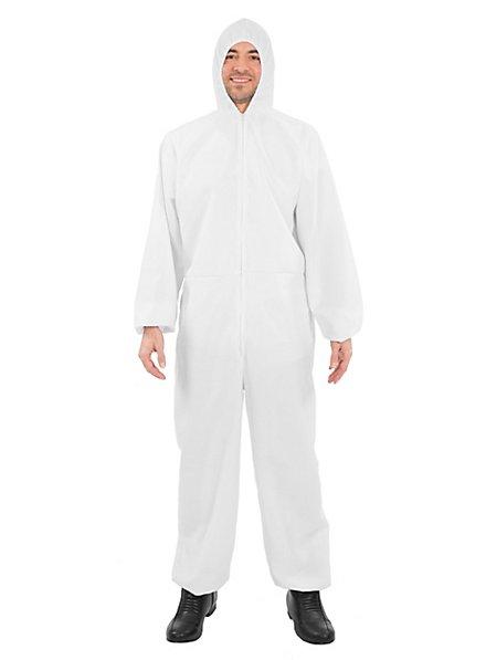 Weißer Schutzanzug Kostüm