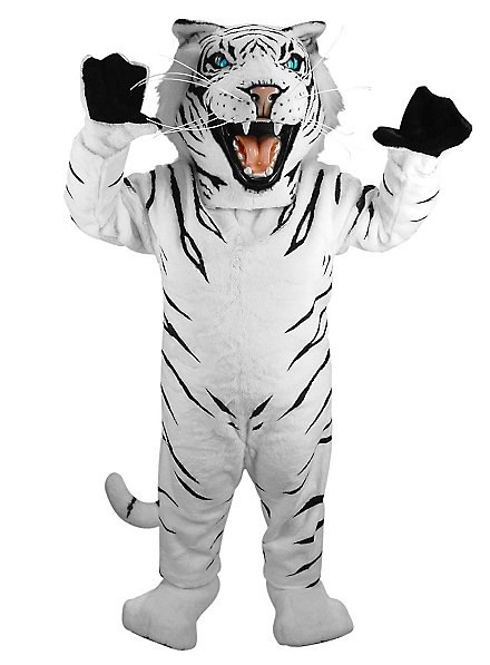 Weißer Tiger Maskottchen
