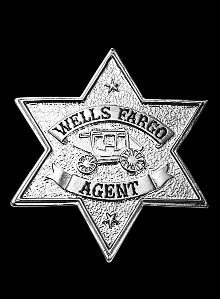 Wells Fargo Agent Badge