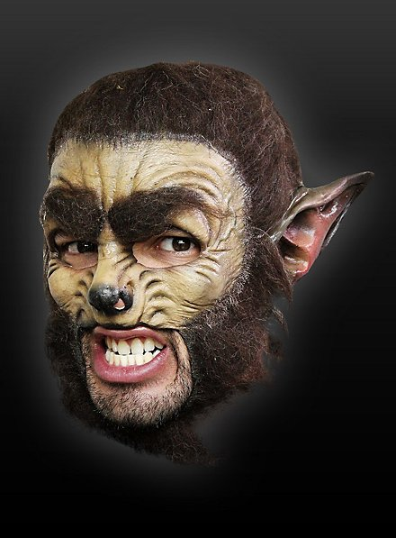 Werewolf Classic Chinless Mask Made of Latex