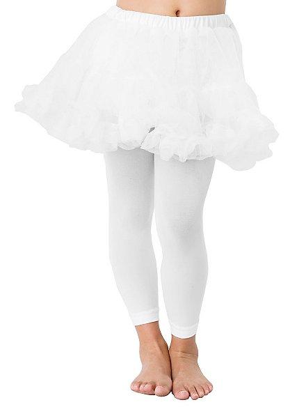 White leggings for children