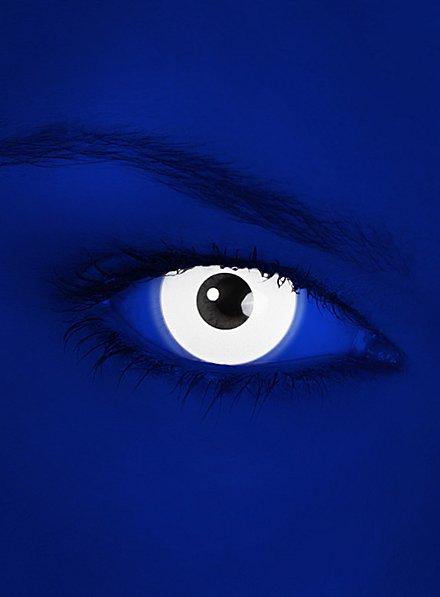 White UV Contact Lenses