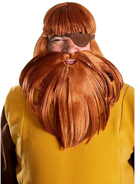 Wickie Halvar wig and beard set