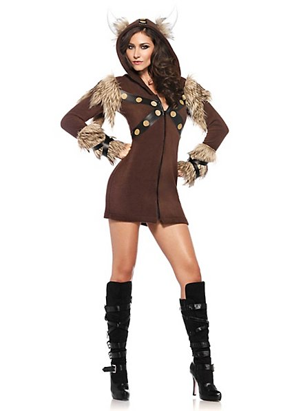 Wikinger Hoodie Dress