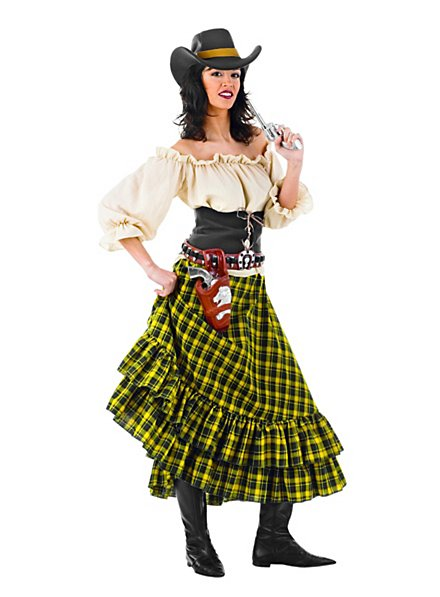 Wild West Banditin Kostüm