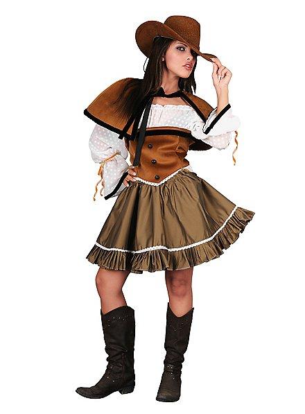 Wild West Lady Kostüm