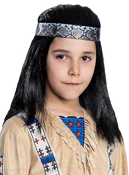 Winnetou Wig for Kids